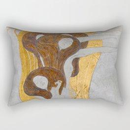 Gustav Klimt - Die Künste Rectangular Pillow