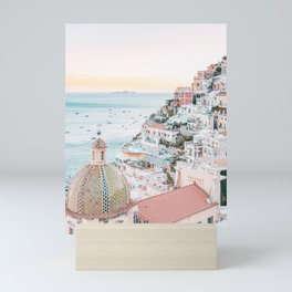 Dreaming of Santorini Mini Art Print