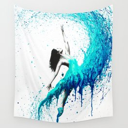 In The Waves Wall Tapestry