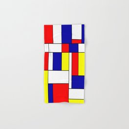 Mondrian #38 Hand & Bath Towel
