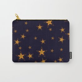 Shining Stars Seamless Pattern Carry-All Pouch