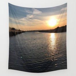 Waterview in Redhook Wall Tapestry