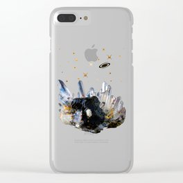 Star Aura Quartz Clear iPhone Case