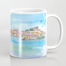 Blue Mediterranean Island Dreams Elba Italy Portoferraio Coffee Mug