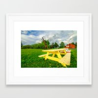parks Framed Art Prints featuring Parks by Jathin Jayan