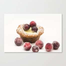 Gingerbread Cheesecake Canvas Print