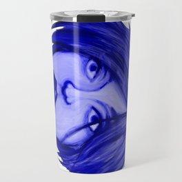 Blue Dreams. Travel Mug
