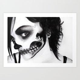 Death Mask Art Print