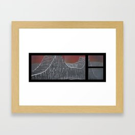 Steel and Streams Framed Art Print