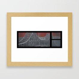 Steel and Streams Framed Art Print