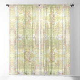 Sherbert Dreams Sheer Curtain