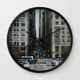 North on Columbus Wall Clock