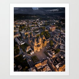 Trier Cathedral, Germany Art Print