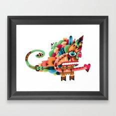 Love Unicorn Framed Art Print
