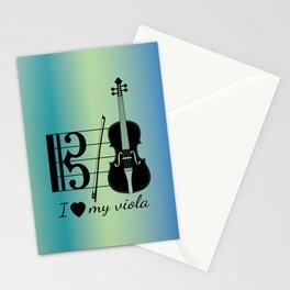 Viola Design Stationery Cards