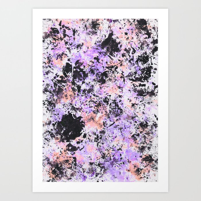 Paint texture Art Print