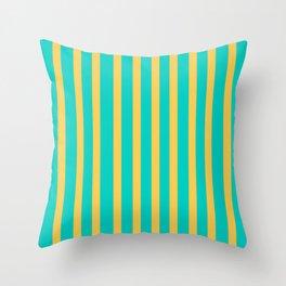 Vintage flavour colors Throw Pillow