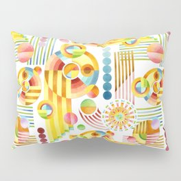 Abstract Art Deco Pillow Sham