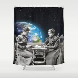 Card Game Shower Curtain