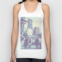 dallas Tank Tops featuring Main & Dallas  by bryantwashere
