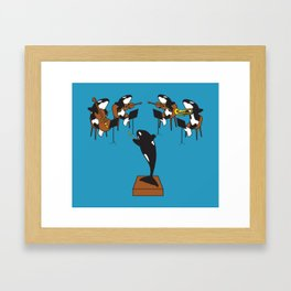 Orcastra Framed Art Print