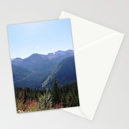 Serenity of the mountains Stationery Cards