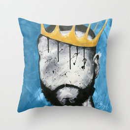 Naturally King BLUE Throw Pillow