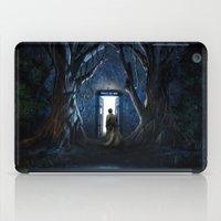 gondor iPad Cases featuring Doors Of Tardis by alifart