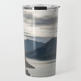 Autumn lake view Travel Mug