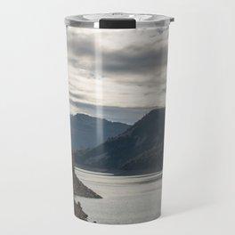 Autumn lake view Travel Mug