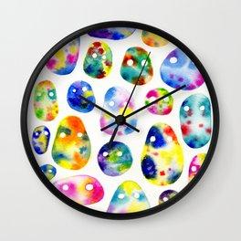 Psychic Blob Friends Wall Clock