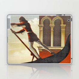 Venice history, gondola Laptop & iPad Skin