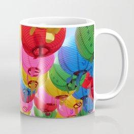 Rows of Gatbawi Lanterns Coffee Mug