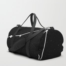 CAPRICORN (BLACK & WHITE) Duffle Bag
