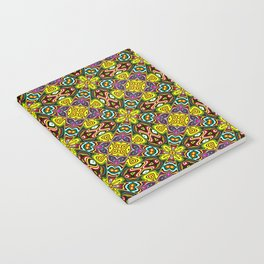 Native American Fashion Pattern Sixten Notebook