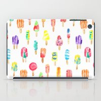 popsicle iPad Cases featuring Popsicle by Golden Girl Art