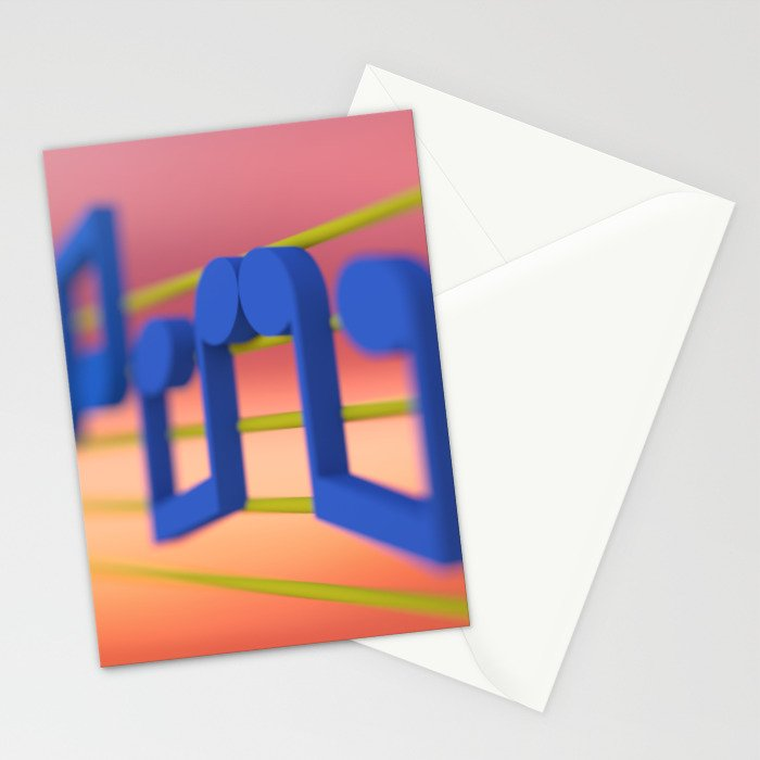 The Music Lovers Stationery Cards