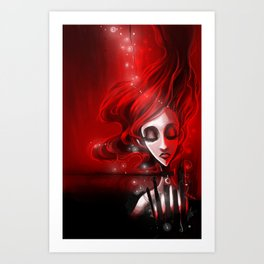 Soaked in Valentine [2013 edition] Art Print