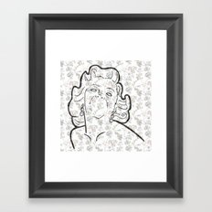 M-on-roe Framed Art Print