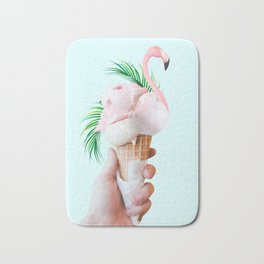 Tropical Ice Cream #society6 #decor #buyart Bath Mat