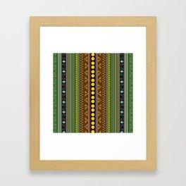 African texture Framed Art Print