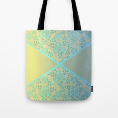 The combined pattern Tote Bag