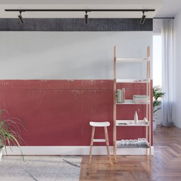 Black White Red 01 Wall Mural