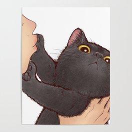 cat : huuh Poster