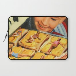 Girls on toast Laptop Sleeve