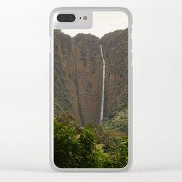 Hi'ilawe Falls Clear iPhone Case