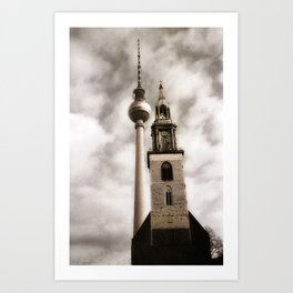 Berlin Church Art Print