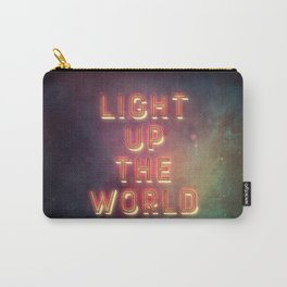 Light Up The World Carry-All Pouch