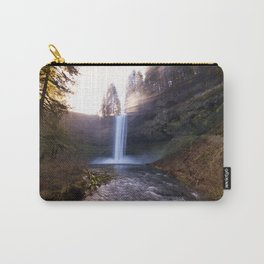 Sun Star Over South Falls Carry-All Pouch