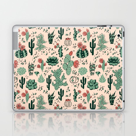 Succulent Desert Laptop & iPad Skin